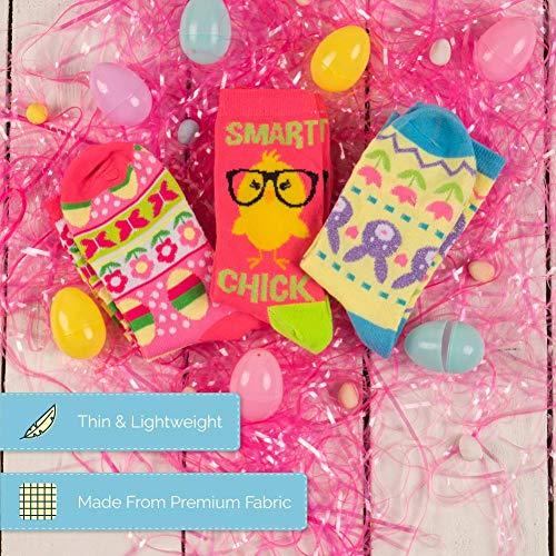 Product Image 7: Easter Crew Socks, Chicks/Bunny Fair Isle/Easter Fair Isle Socks (3 Pack)