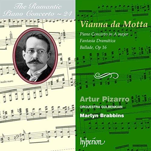 The Romantic Piano Concerto - Vol. 24 (Vianna da Motta)