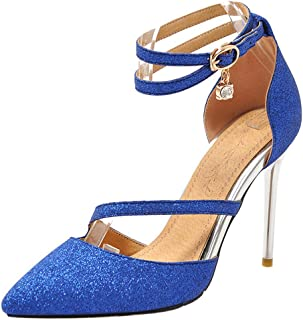 Zanpa Women Elegant Stiletto High Heels Sandals