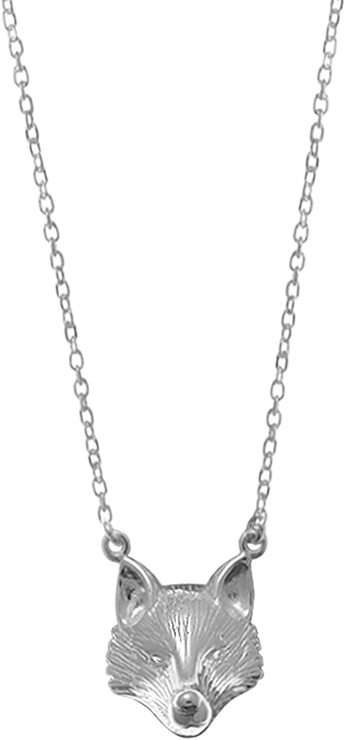 Ranking TOP12 Boma Jewelry Sterling Silver Free shipping New Inches Necklace 18 Fox