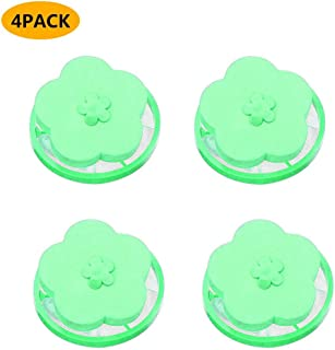 6PC MmNote Floating Lint Mesh Bags Reusable Washing Machine Floating Filter Bag Flower Shaped Laundry Lint Remover Ball Pet Hair Wool Catchers
