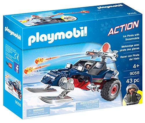 Playmobil 9058 - Predatore Con Motoslitta