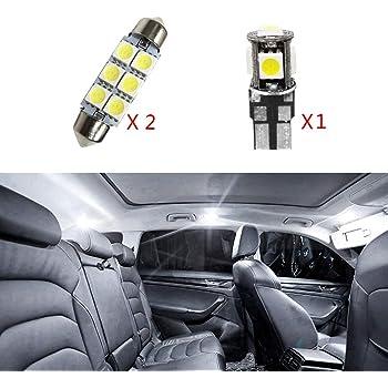 High Match Super Luminoso Sorgente luci Interne a LED Lampada per Auto abitacolo Lampadine di Ricambio Bianca Confezione da 9 per Sportage-R
