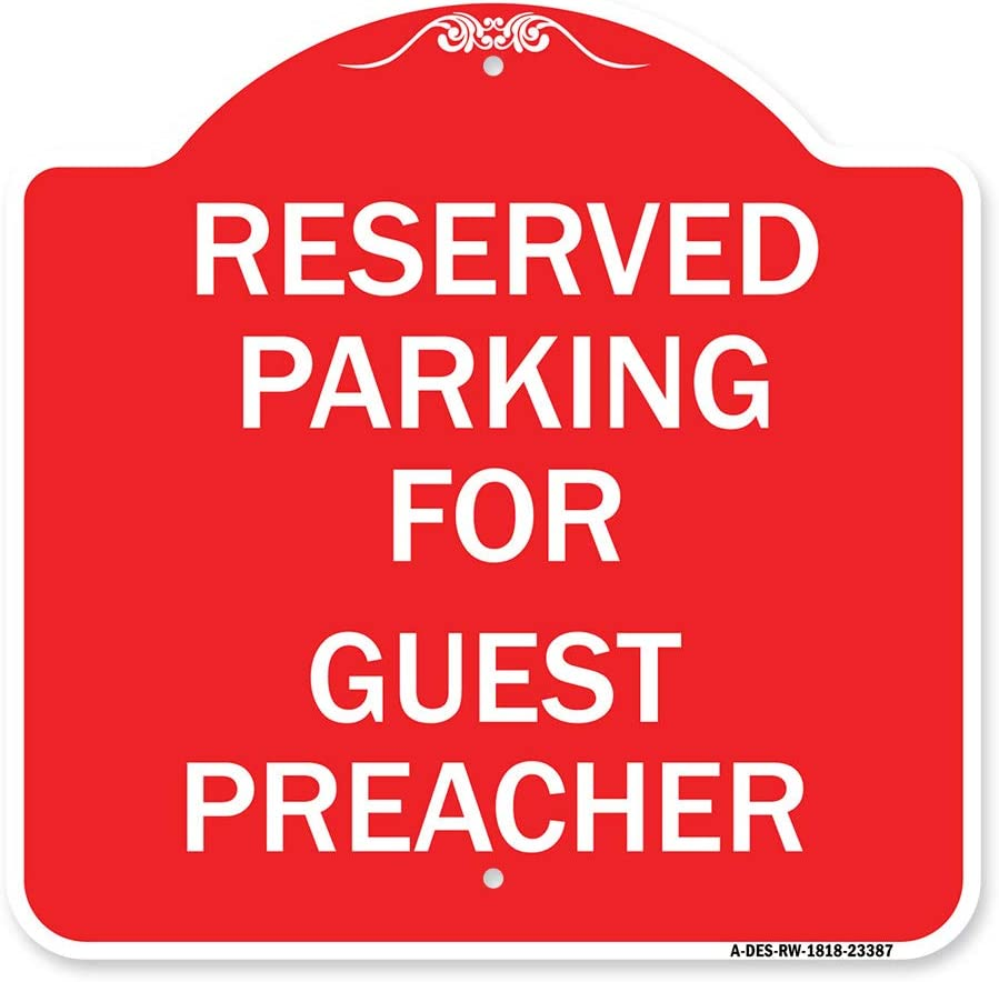 SignMission Designer Series Sign - Max 63% OFF for Parking Pr Guest Reserved Max 40% OFF