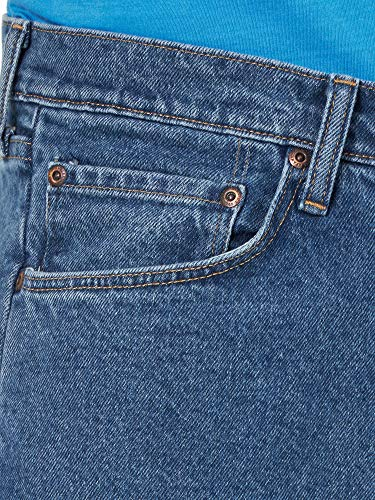 Wrangler Authentics Men's Classic Relaxed Fit Jean, Dark Stonewash Flex, 38W x 29L
