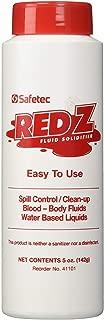 Safetec Red Z Fluid Control Solidifier, 5 oz. Shaker Bottle