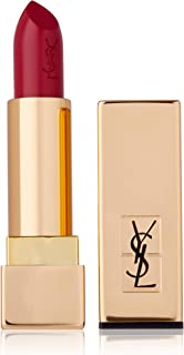 Yves Saint Laurent Rouge Pur Couture Pure Colour Satiny Radiance Lipstick No. 4 Rouge Vermillon for Women, 0.12 oz, 3.6 mi...