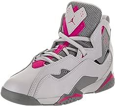 Jordan Air True Flight Preschool Wolf Grey Deadly Pink Cool Grey 12.5 M US Little Kid