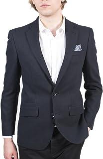HARRY BROWN Navy Wool 2 Button Blazer 38 to 50