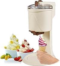 Machine À Sorbetière 1L Service Doux Machine À Crème Glacée Aux Fruits de Ménage Automatique Bricolage Sorbetière Électriq...