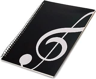 MUSE Musical Blank Sheet Music Music Manuscript Paper/Musicians Notebook/Composition Manuscript 50 Pages (Note Black)