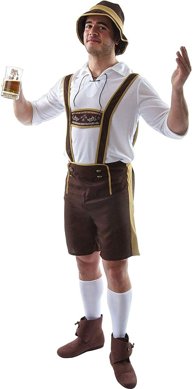 Orion Costumes Cheap super special price Mens Oktoberfest Costu Lederhosen Now on sale German Bavarian