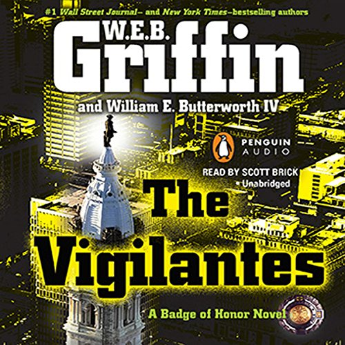 The Vigilantes audiobook cover art