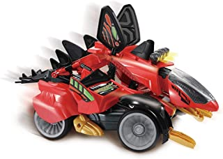 VTech Switch & Go Dinos: Sandstorm The Stegosaurus Kids Toy|Interactive Remote Control Dinosaur Toy That Switches Into a Racing Car|Educational Toy for Children 3, 4, 5, 6+ Year Olds