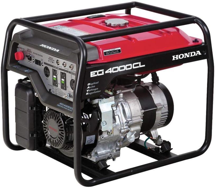 Honda 664342 EG4000 120V/240V 4000-Watt 270cc Portable Generator with Co-Minder