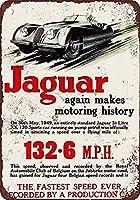 Jaguar 金属板ブリキ看板警告サイン注意サイン表示パネル情報サイン金属安全サイン