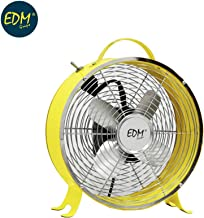 Ventilador de sobremesa TRITON amarillo 20cm 20W EDM 33014