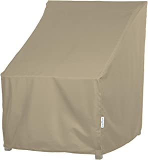 SunPatio Outdoor Dining Chair Cover, Water Resistant, Lightweight, Helpful Air Vents, All Weather Protection, 27