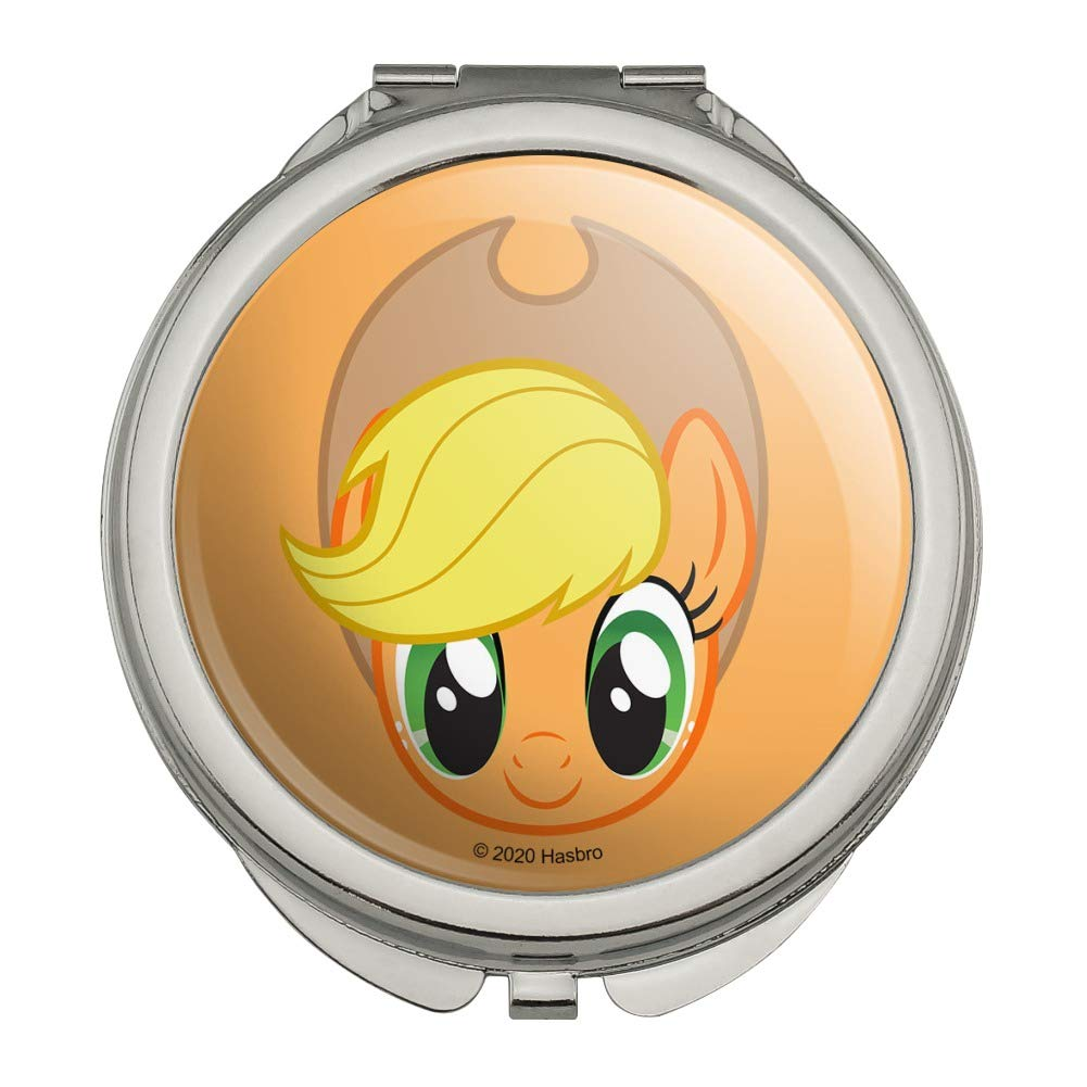 My Little Pony Applejack Face Purse Compact Handbag Classic Travel Makeu Selling and selling