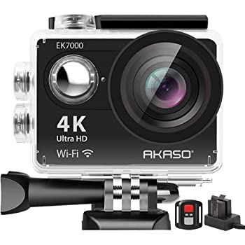 Victure Action Cam 4K Navitech 8-in-1 Action Camera Accessories Combo Kit with EVA Case Compatible with The Vemont Full HD 2.0 Inch