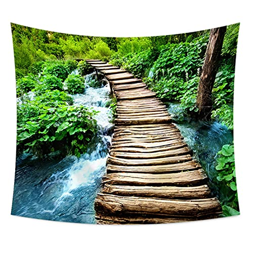 NHhuai Tapiz Pared,Tapiz de tapices de Pared de algodón,Colcha de pícnic,Tapices Decorativos Tapiz de impresión Digital de Paisaje
