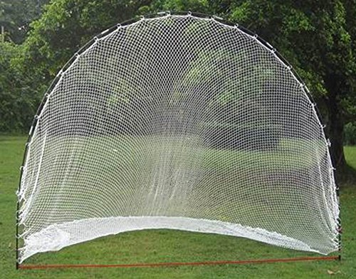 The Range – Rete pratica da golf in 275 x 210 x 210 cm – Con Gancho – Tienda de golf Red / Driving Range / practice net