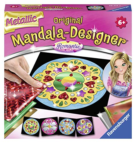 Ravensburger 29717 - Metallic Mandala-Designer Romantic