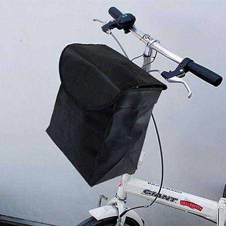 Yihaifu Archiviazione Pocket Mesh Borsa Bike Bicicletta Pieghevole da Ciclismo su Strada della Bicicletta della Parte Anteriore della MTB Pannier Pouch Manubrio Borsa Laterale
