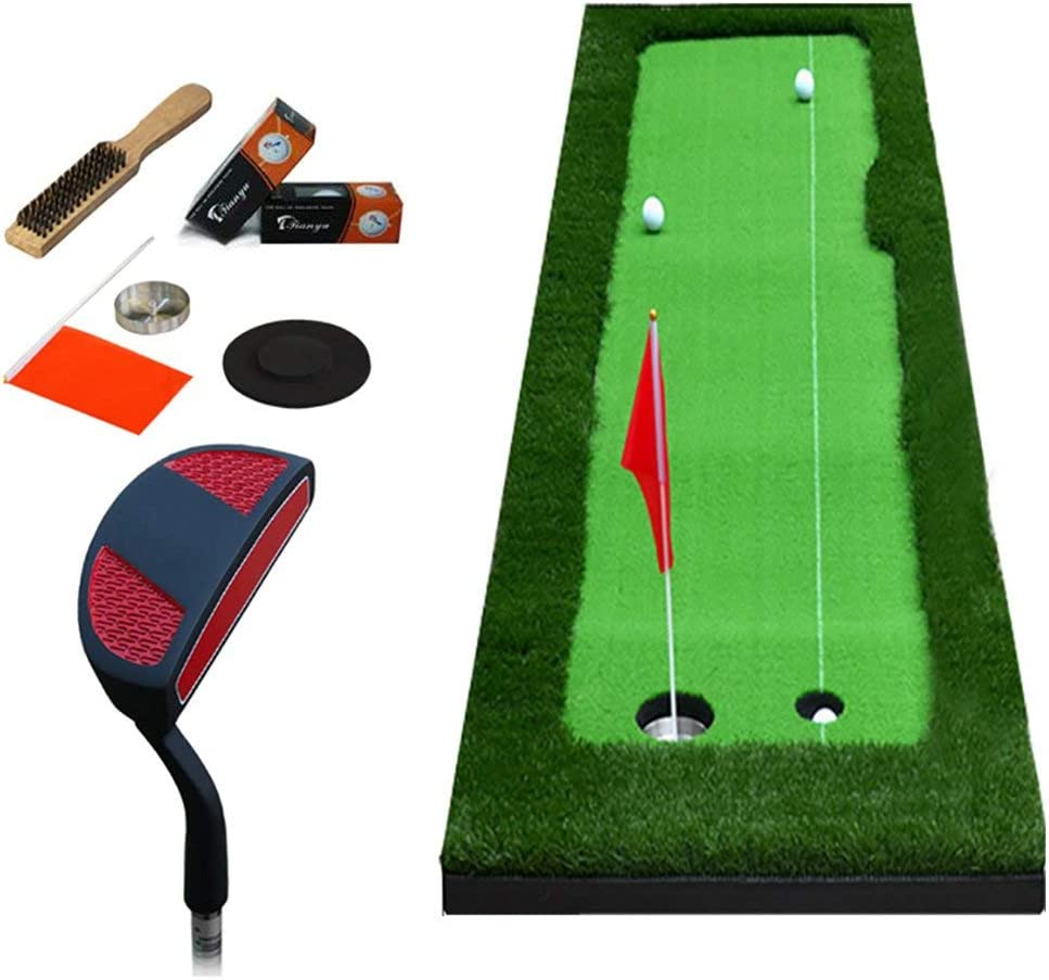 AUKLM Putting mat Golf Office Putter Detroit Mall Indoor Mat Pu All stores are sold Practice