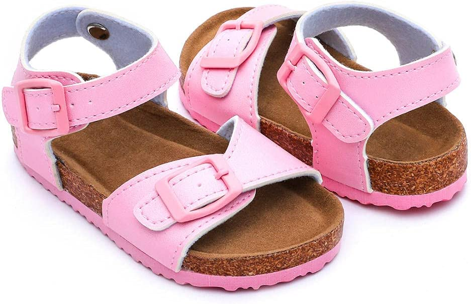 COQUI flip Flop Men,Girls Cork sandwear Comfortable Wild Sandals Popular Beach Shoes-Pink_26