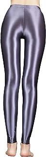 Agoky Unisex figurformende Strumpfhose Leggings Tights Zweifarbig / Einfarbig Glänzend Hose Pants Kostüm Zubehör für Damen und Herren