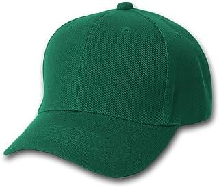TopHeadwear Blank Summer Baseball Cap Hat- Forest Green
