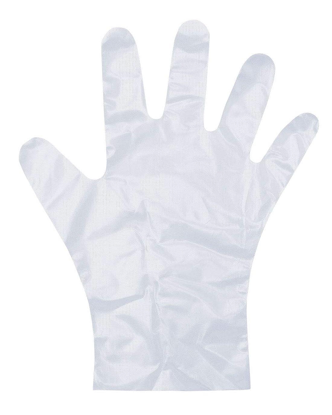 メナジェリーエッセンスミルダンロップ ホームプロダクツ ビニール手袋 ポリエチレン エンボス 半透明 M 調理 毛染め ペンキ塗り PD-110 100枚入