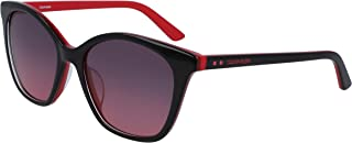 Calvin Klein Women's Sunglasses GRADIENT BLACK/RED 54 mm CK19505S