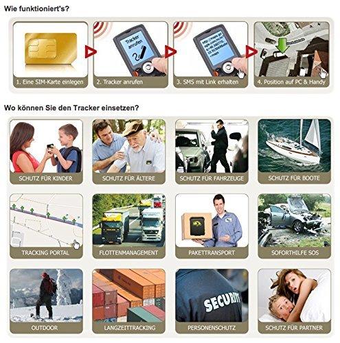 Incutex GPS Tracker TK104 Peilsender Personen und Fahrzeugortung GPS Sender mit KFZ-Ladekabel Autoladekabel Version 2017 Abbildung 2