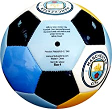 Manchester City Soccer Ball Multi Color Color - Size 4