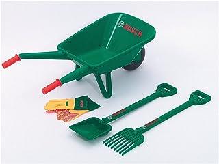 comprar comparacion Theo Klein 2752 Set de jardinería con carretilla Bosch, Con pala, rastrillo y guantes de trabajo, Medidas: 70.5 cm x 34 cm...