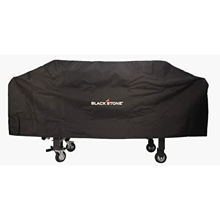 """Blackstone 1528 Waterproof 600D Polyester Heavy Duty Flat top Gas Grill Cover Exclusively 36"""" Griddle Cooking Station, Black"""