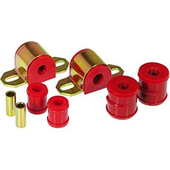 Prothane 7-1119 Red 3//4 Rear Sway Bar Bushing Kit