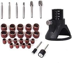 Greatangle Juego de herramientas eléctricas rotativas de 150 piezas Mini taladro amoladora Kit de pulido Localizador de bandas de lijado Accesorios Piezas Trabajo de madera Reparación Multi-color