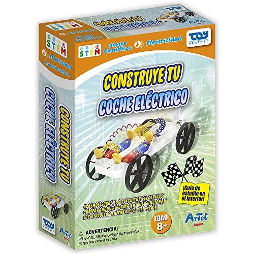 Toy Partner- Artec Construye tu Coche electrico, Multicolor (96453)