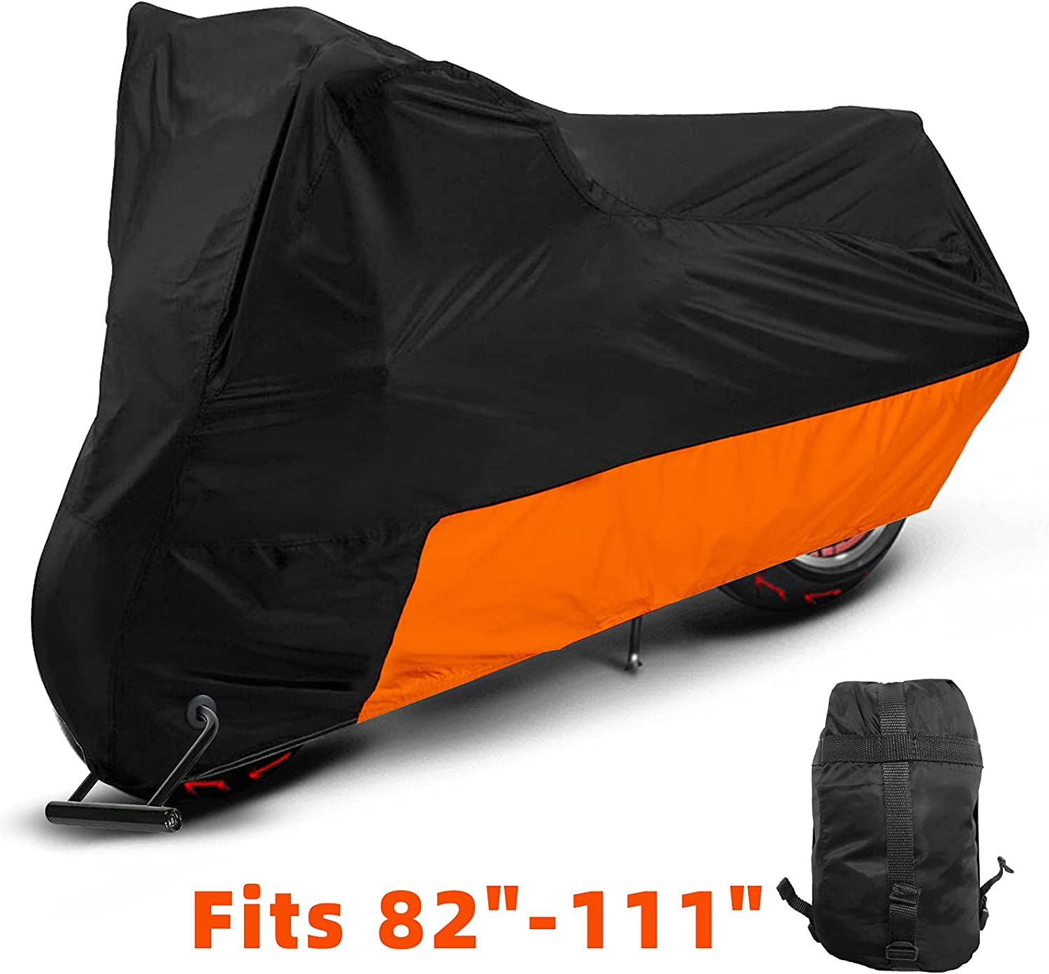 35% Special Campaign OFF Vinpatio Motorcycle Cover Waterproof 150D Proof and Thicker Tear