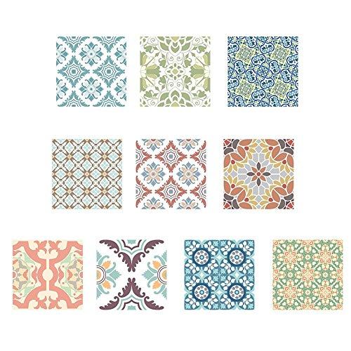 Foru-1 Retro Wasbare Tegels Stickers Badkamer Keuken Muurstickers