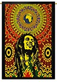 Bob Marley Cotton Indian Wandbehang Tapisserie Poster