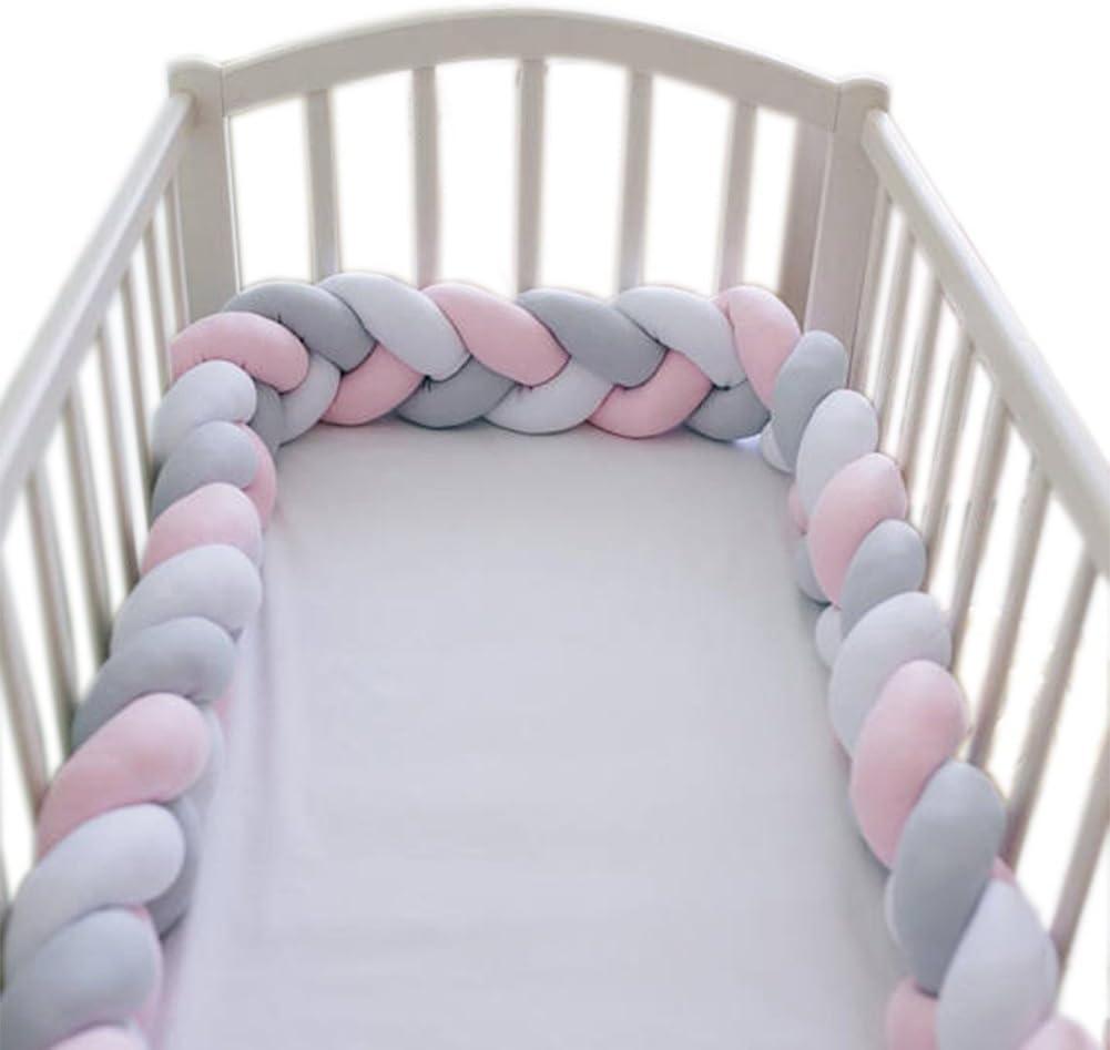 Cushion Max 71% OFF for Crib Handmade Popular popular Soft Bedroom Protector Knot Infant