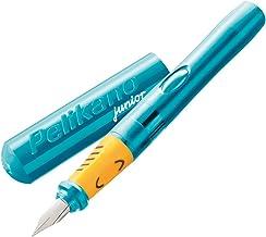 Pelikan Pelikano Jr. Fountain Pen, Right-Handed, Medium Nib, Turquoise, 1 Pen (924886)
