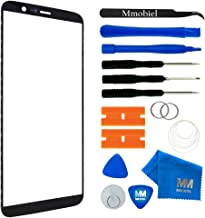 MMOBIEL Front Glass Replacement Compatible with OnePlus 5T - 6.01 Inch(Black) Display Touchscreen incl. Tool Kit