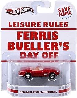 Hot Wheels Retro Ferris Bueller's Day Off 1:55 Die Cast Car Ferrari 250 California