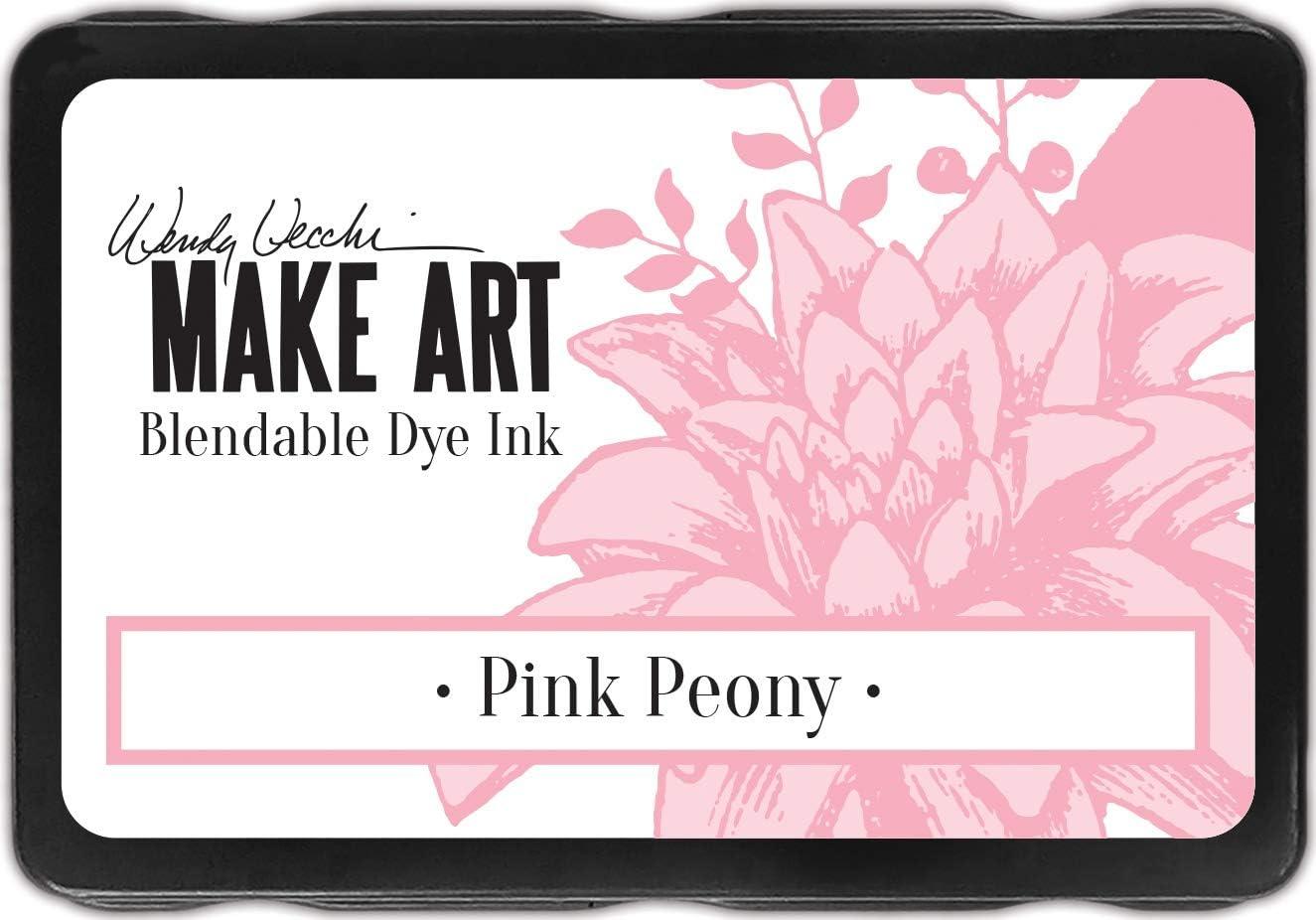 Finally resale start Wendy Vecchi WENDY Louisville-Jefferson County Mall DYE PEONY INK PINK PAD