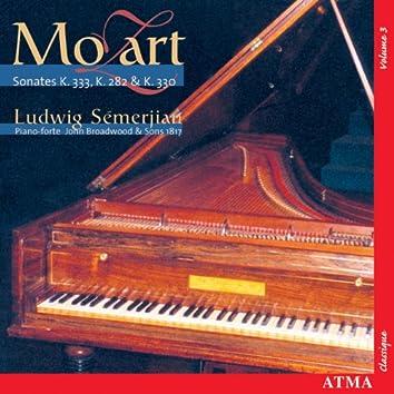 Mozart: Piano Sonatas, Vol. 3 (K.282, 330, 333)